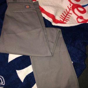 Grey dickies work pants